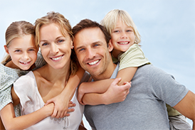 Family with Texas Insurance Coverage